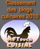 Classement des blogs culinaires 2010