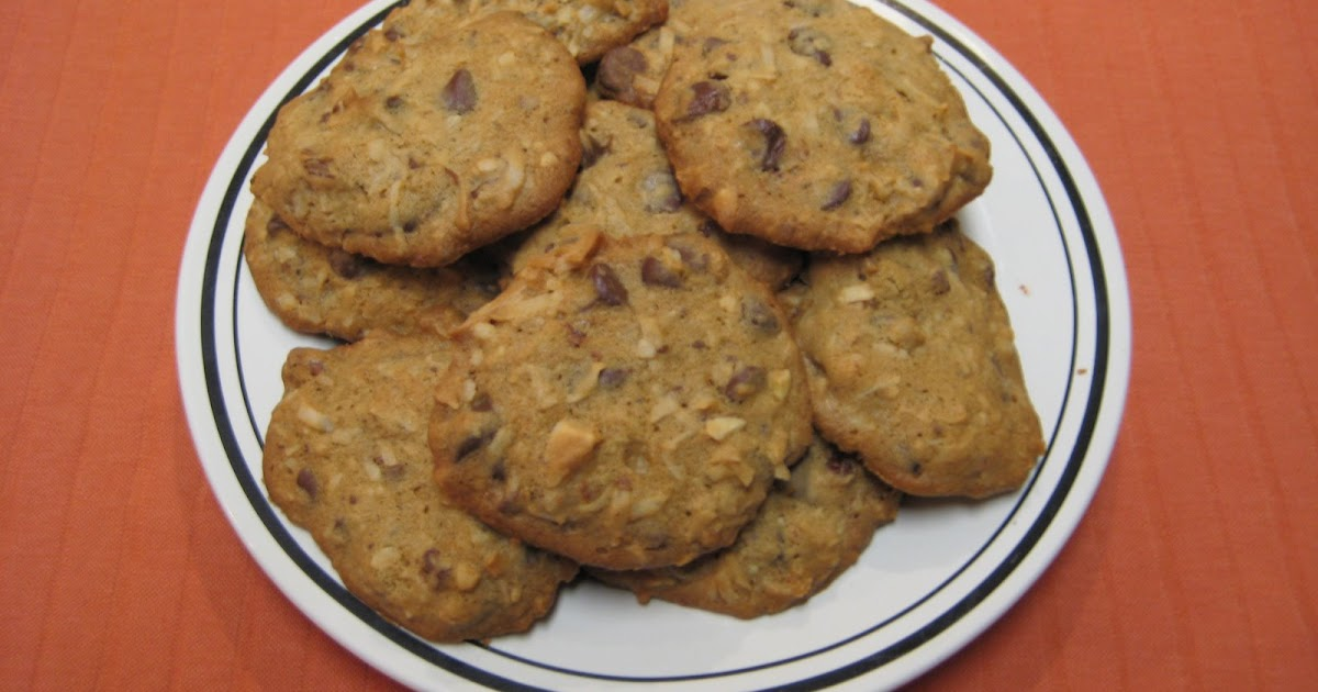 Cooking with Joey: Chocolate Coconut Crunch Cookies