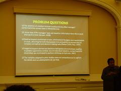 Presenting Paper at Harvard University, MA, 2010