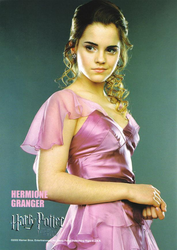 the visual influence hermiones yule ball dress