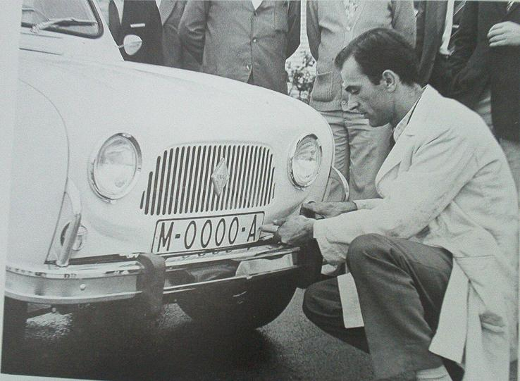 Ballesterismo la historia de las matr culas espa olas - Matricula coche hoy ...