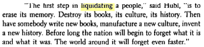 Milan Kundera, The Book of Laughter and Forgetting, trans. Michael Henry Heim (New. York: Alfred A Knopf, Inc., 1980), p. 159.