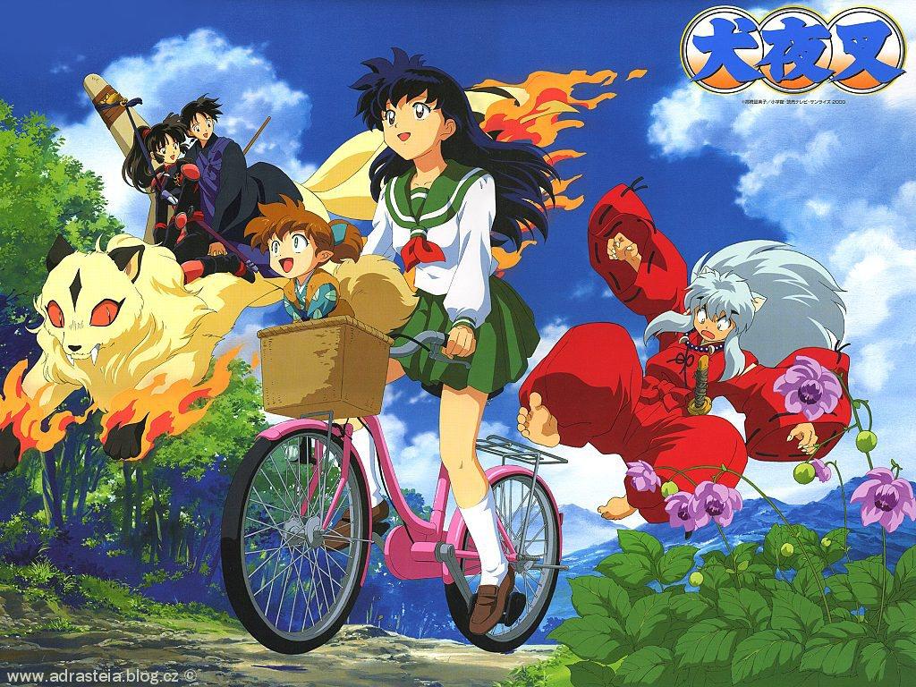 poze inuyasha  desene animate