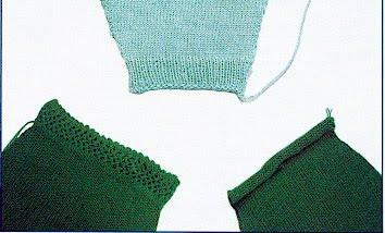 Вязание манжет н машине