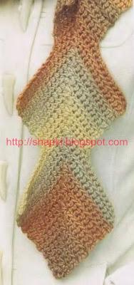 Интересный шарфик