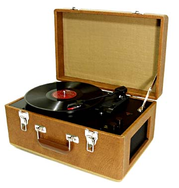1940s Record Player On the radio show tonight,