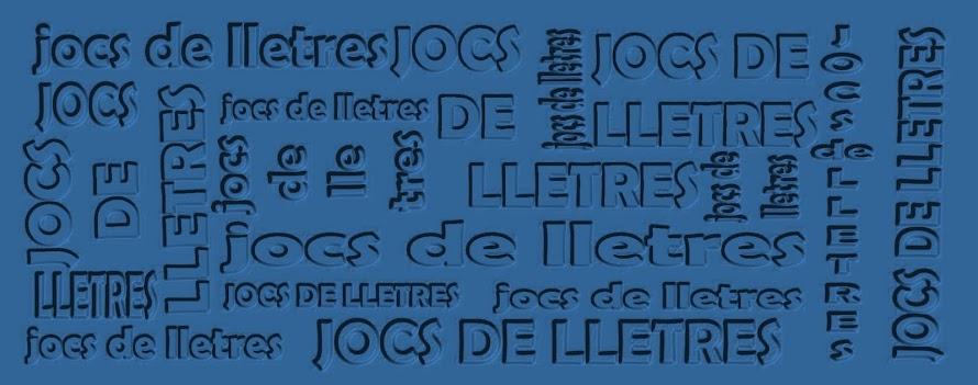 JOCS DE LLETRES