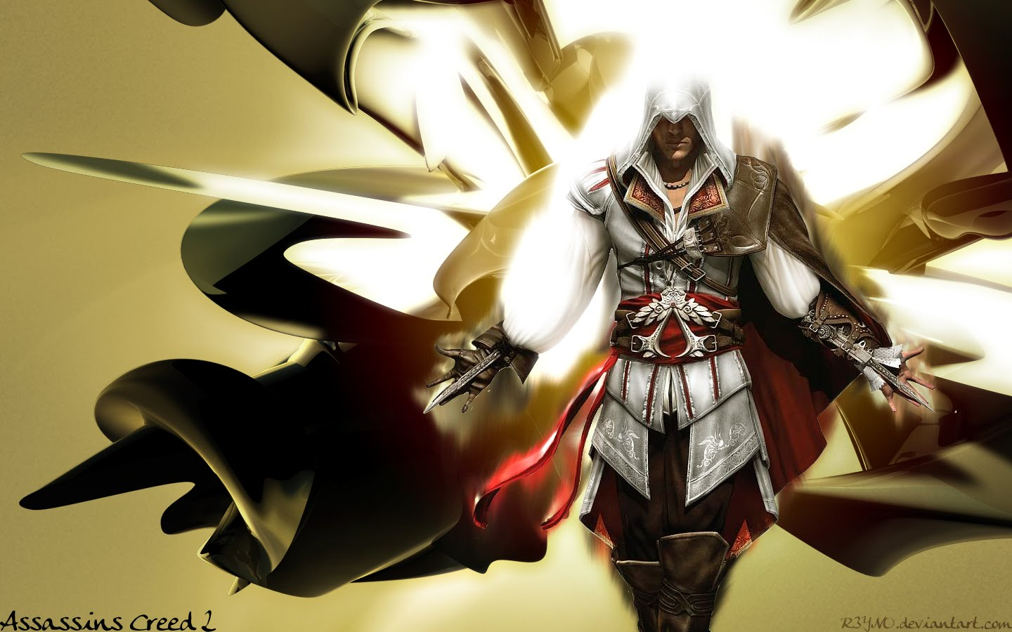 Assassin's Creed 2 Wallpaper for Xbox 360