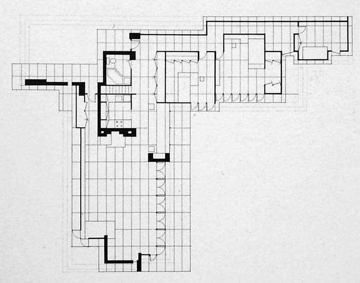 Usonian House Plans Floor Plans