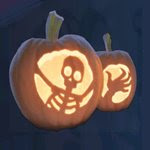 Ingyenes Tökfaragás Sablon - Halloween