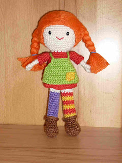 pippi langstrumpf amigurumi h kelanleitungen von k and j. Black Bedroom Furniture Sets. Home Design Ideas
