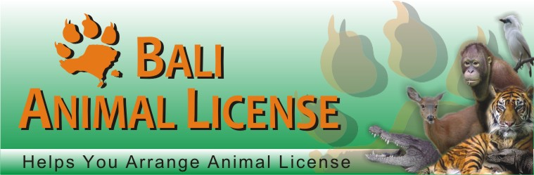 Bali Animal License
