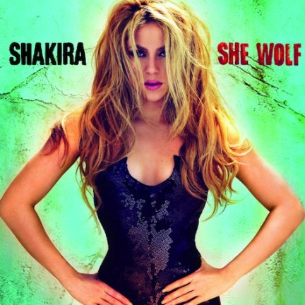 shakira album she wolf. maxi cd singles
