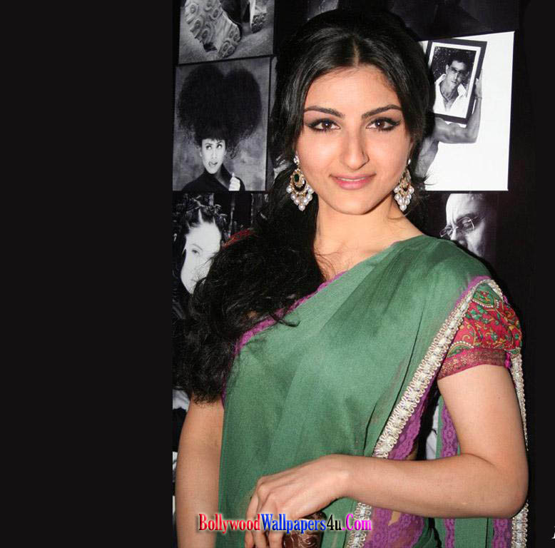 soha ali khan wallpapers. Soha Ali Khan Saree Wallpaper