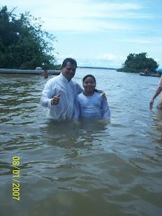 Minha Querida Netinha Kalinda Vitória: Batismo nas Àguas