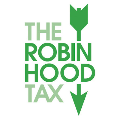 Robin Hood Tax campaign logo