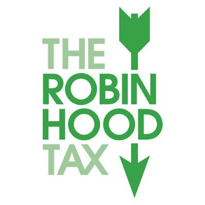 Robin Hood Tax campaign logo