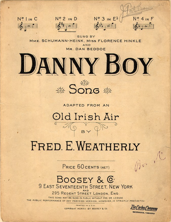 Dàithaì C: Danny Boy