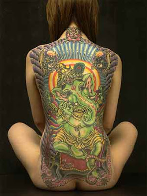 ganesha tattoos. The Ganesh Tattoo Picture is
