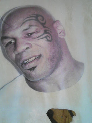maori shoulder tattoo. Mike Tyson Maori Tattoo