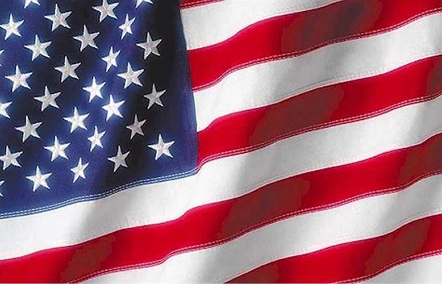american flag red stars