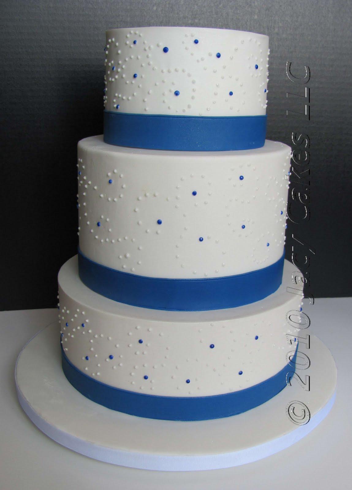 News from Jacy Cakes Swirly Dot Wedding Cake