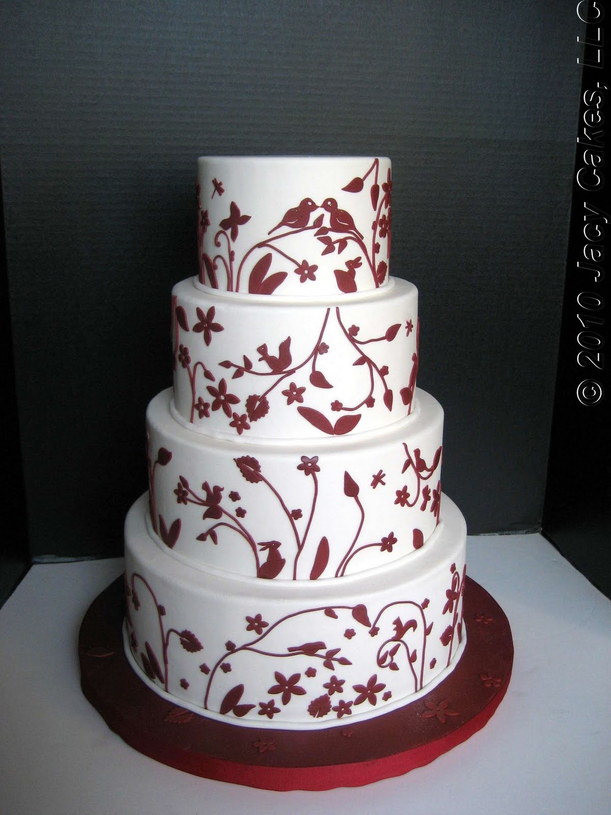 Wedding Cake Design Patterns : News from Jacy Cakes: China Pattern Wedding Cake