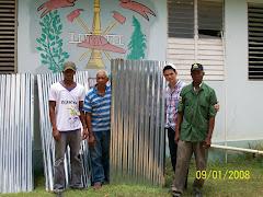 Camilo Then, Entrega de Zing a los Bomberos de Manzanillo.