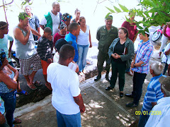 Encuentro con los Guardianes de la Bahia y Medio Ambiente en MANZANILLO
