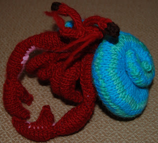 Amigurumi Hermit Crab : knitting 101: Amigurumi toys!