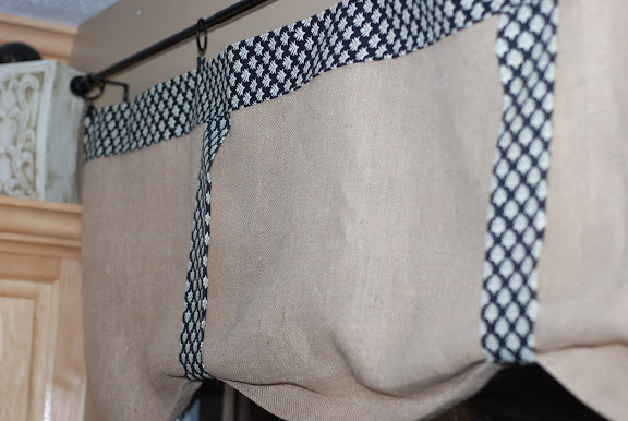 How to no sew kitchen curtains curtain design