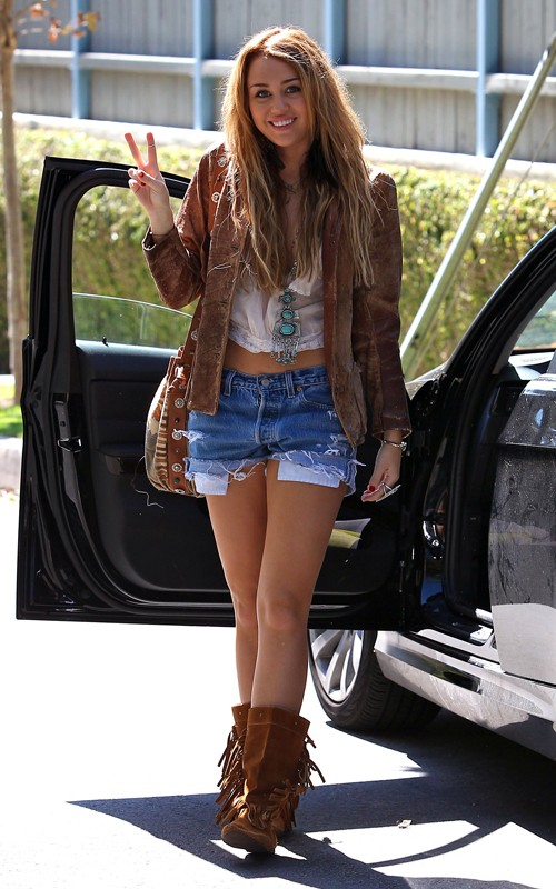 Miley Cyrus The Style Stash