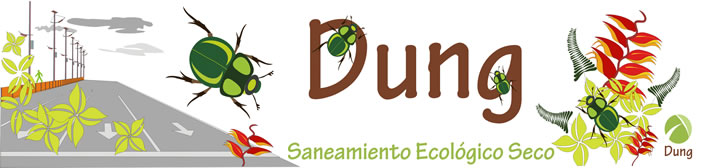 Dung saneamiento ecológico seco.