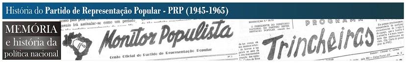 História do Partido de Representação Popular.