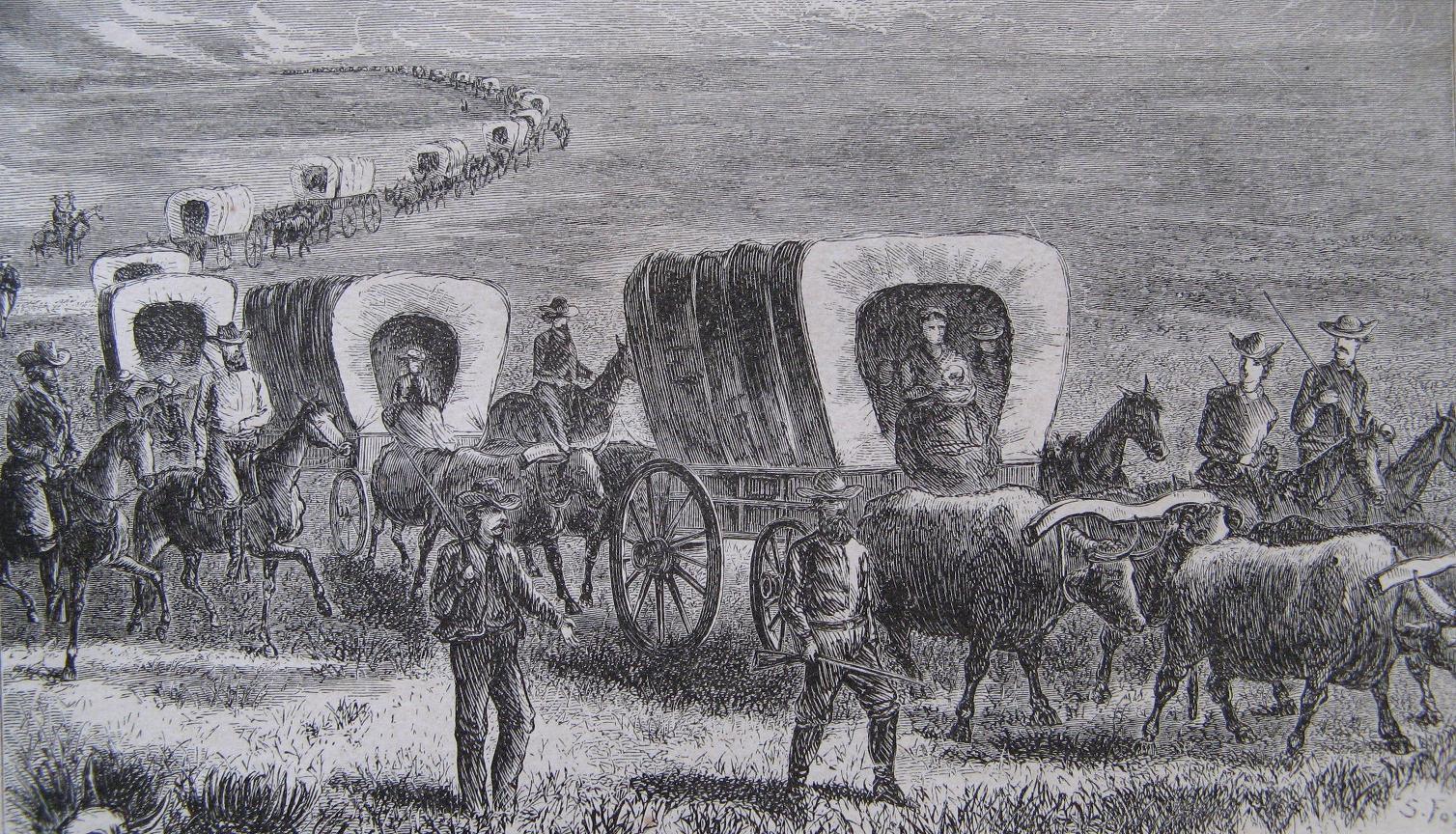 Pioneer Wagon Train