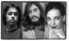 Pedro, Damián y Cecilia en:  Libro Marcado 2010 - Malba-