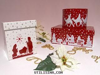 Como hacer cajas de regalo para navidad