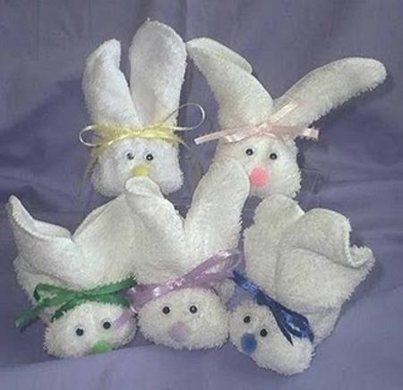 Conejitos para decorar un baby shower