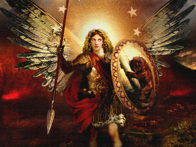 Archangel Michael Framed Giclee Print · Reni, Guido 19.25 in. x 23.25 in.