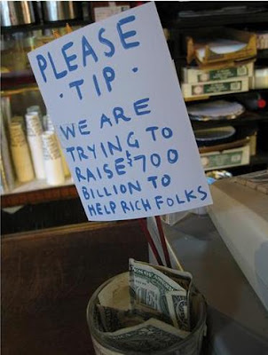 please tip for helping rich folks