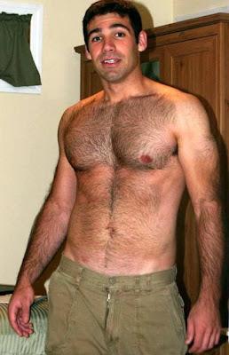 Hombres desnudos bordados con fondillas