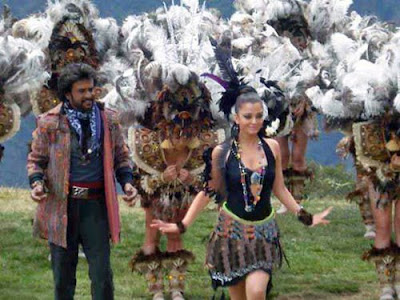 Enthiran - the Robot location stills leaked
