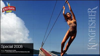 Kingfisher Swimsuit Calendar 2008
