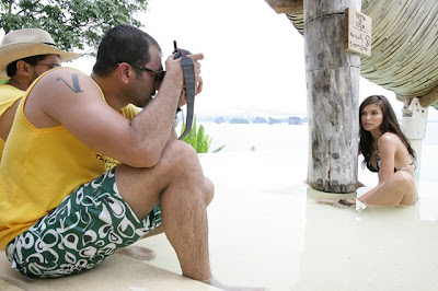 Kingfisher Calendar 2009 - Behind the Scenes