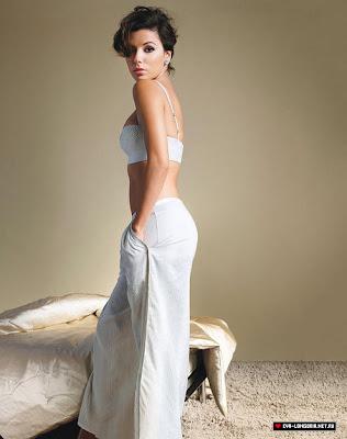 Eva Longoria Glamour UK photo shoot - February 2009