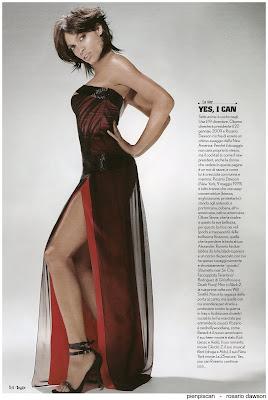 Rosario Dawson Max Magazine Photo shoot