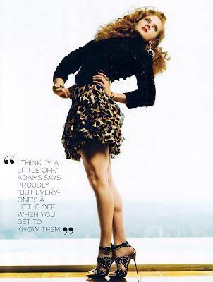 Amy Adams Style Magazine Scans