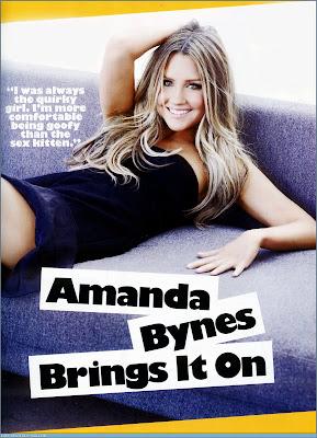 Amanda Bynes Cosmopolitan scans