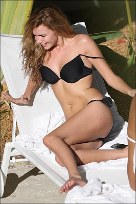Nadine Coyle bikini Photos