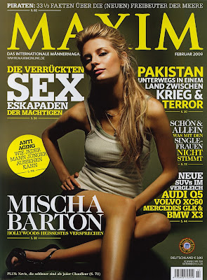 Mischa Barton Maxim Photo Shoot